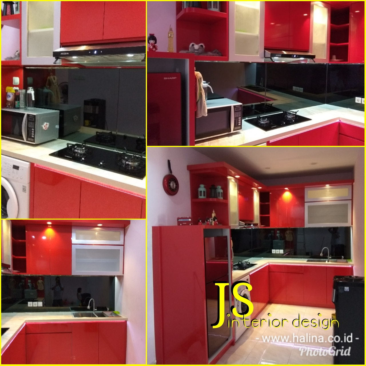 KITCHEN SET PERUM METRO CILEGON (JULI 2018)