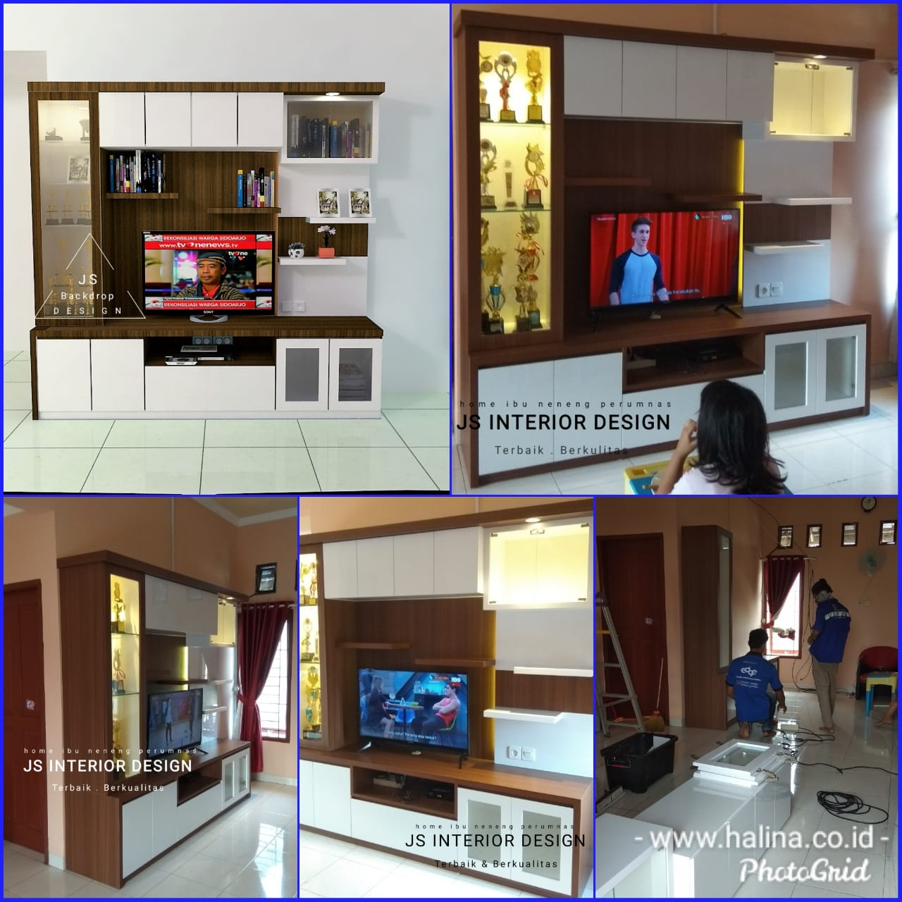 BACKDROP TV PERUMAHAN PERUMNAS CILEGON ( SEPTEMBER 2019 )