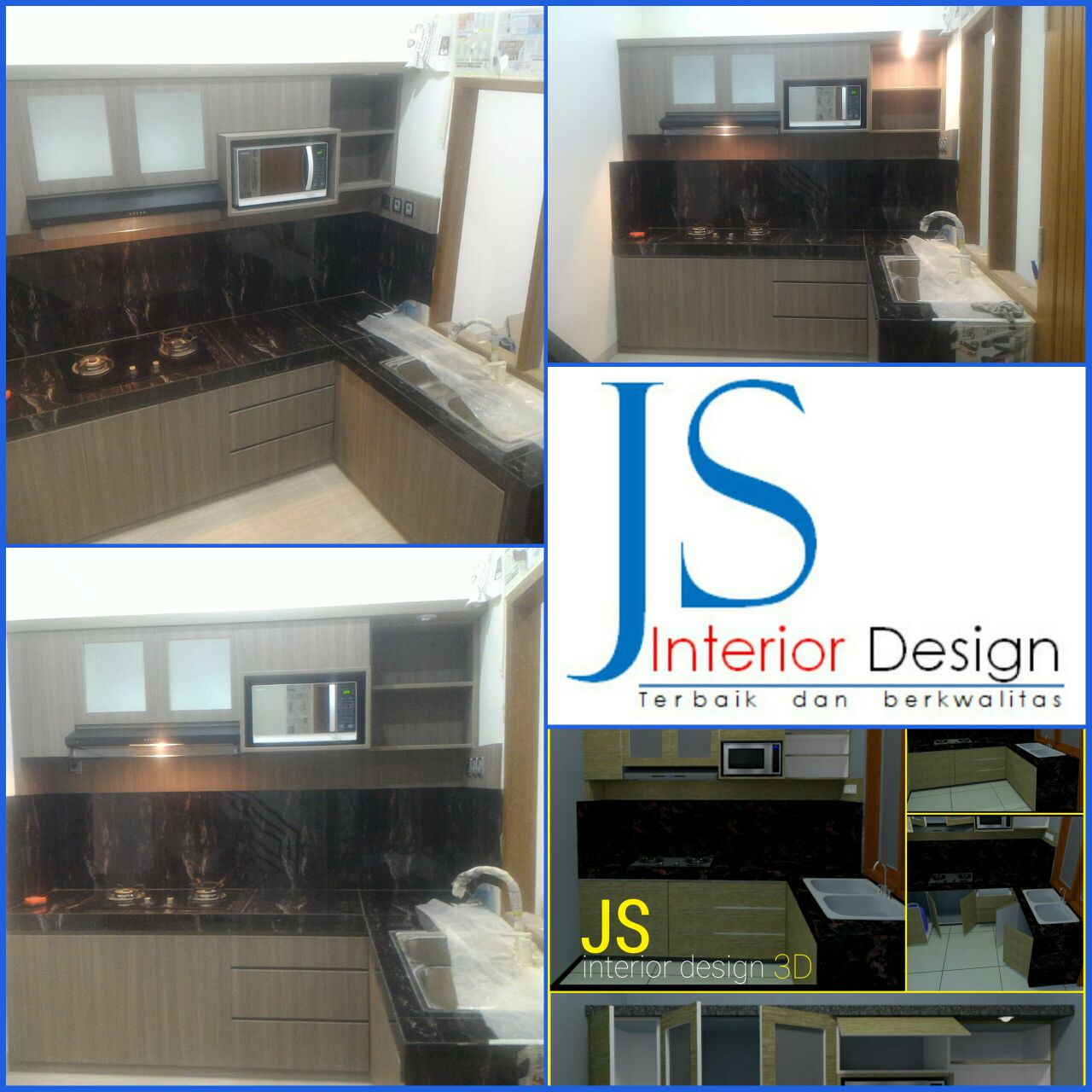 KITCHEN SET PERUM PCI CLASTER CARITA (APRIL 2018)